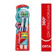 Colgate 360 Komple Ağız Temizliği Çok Yönlü Koruma Orta Diş Fırçası 1+1