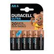 Duracell AA Ultra Kalem 6'lı Pil