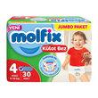 Molfix Külot Bez Jumbo Maxi 30'lu No:4