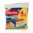 Vileda Temizlik Bezi Dalgalı 4'lü