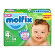 Molfix Bebek Bezi Maxi Plus 34'lü 4+ Beden