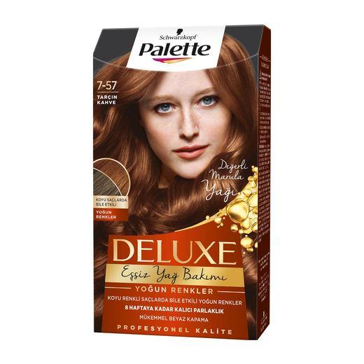 Palette Deluxe Tarcin Kahve Sac Boyasi 7 57 Sac Boyalari Sac