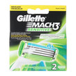 Gillette Mach3 Bıçak Sensitive 2'li