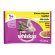 Whiskas Multipack Kümes Hayvanlı 4X100 gr