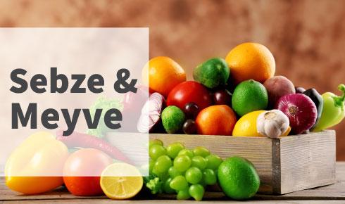 Sebze & Meyve
