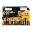 Duracell AA Kalem Pil 6+2