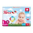 Baby Turco Bebek Bezi Newborn 60'lı 1 Beden